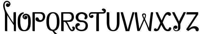 Zamrud & Khatulistiwa Font UPPERCASE