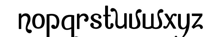Zamrud & Khatulistiwa Font LOWERCASE