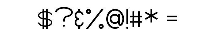 Zamyatin Font OTHER CHARS