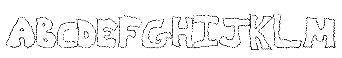 ZapDeal Font LOWERCASE