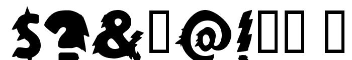 Zapftig-Regular Font OTHER CHARS