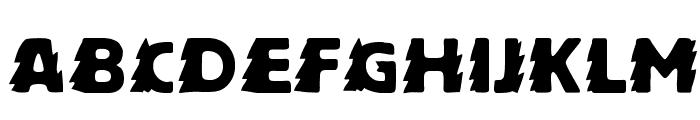 Zapftig-Regular Font UPPERCASE