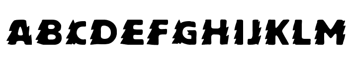 Zapftig-Regular Font LOWERCASE