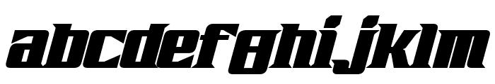 Zarathos Bold Italic Font LOWERCASE