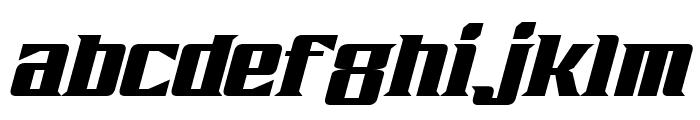 Zarathos Italic Font LOWERCASE