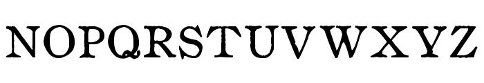 zai Drukarnia Wydawnicza 1870 Font UPPERCASE