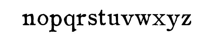 zai Drukarnia Wydawnicza 1870 Font LOWERCASE