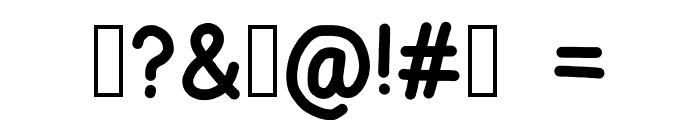 zama Bold Font OTHER CHARS