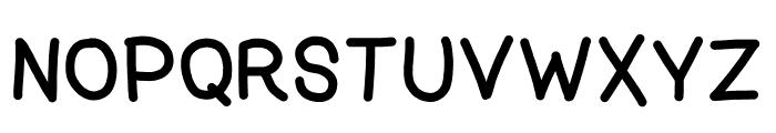 zama Bold Font UPPERCASE