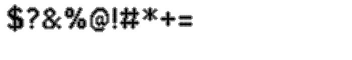 Zampichi Sharp Font OTHER CHARS
