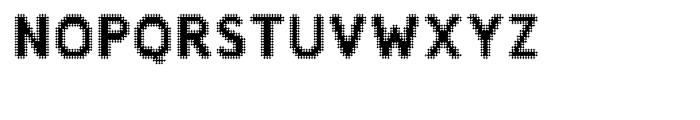 Zampichi Sharp Font UPPERCASE