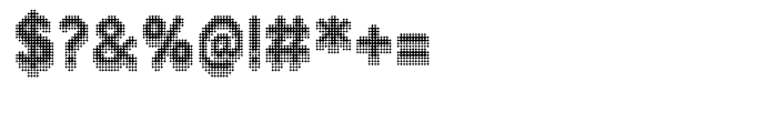 Zampichi Solid 3D Font OTHER CHARS