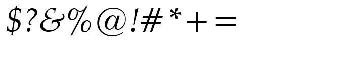 Zapf Calligraphic 801 Italic Font OTHER CHARS