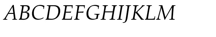 Zapf Calligraphic 801 Italic Font UPPERCASE
