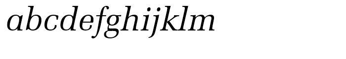 Zapf Elliptical 711 Italic Font LOWERCASE