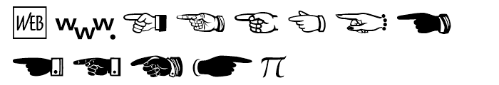 Zapf Essentials Communication Font UPPERCASE
