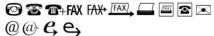 Zapf Essentials Communication Font LOWERCASE