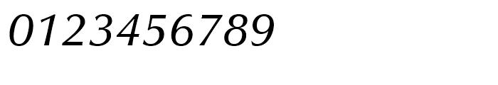 Zapf Humanist 601 Demi Italic Font OTHER CHARS