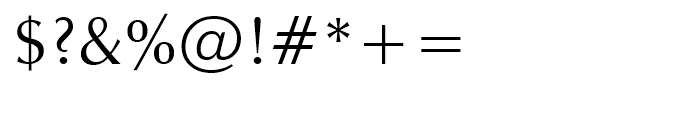 Zapf Humanist 601 Roman Font OTHER CHARS