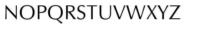 Zapf Humanist 601 Roman Font UPPERCASE
