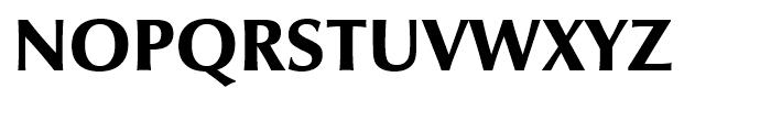 Zapf Humanist 601 Ultra Font UPPERCASE