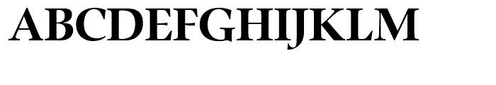 Zapf Renaissance Antiqua Bold Font UPPERCASE