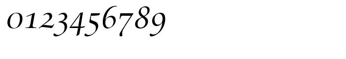 Zapf Renaissance Antiqua Caps Book Italic Font OTHER CHARS