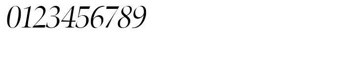Zapf Renaissance Antiqua Light Italic Font OTHER CHARS
