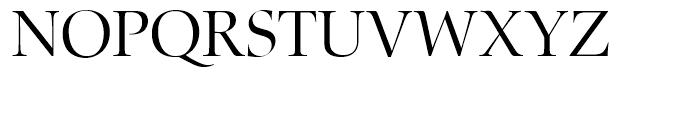 Zapf Renaissance Antiqua Light Font UPPERCASE