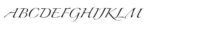 Zapfino One Font UPPERCASE