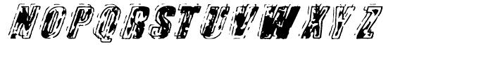 Zapped Regular Font UPPERCASE