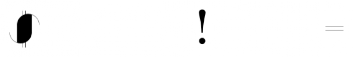 Zaza Regular Font OTHER CHARS