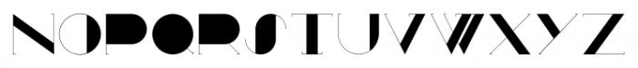 Zaza Regular Font UPPERCASE