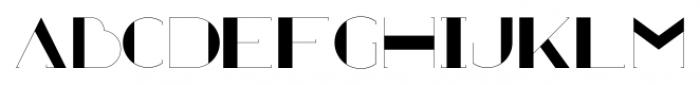 Zaza Regular Font LOWERCASE