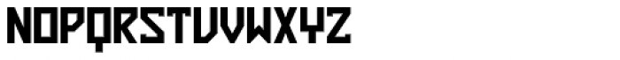 ZAP Black 360 Font UPPERCASE