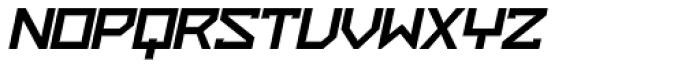 ZAP Black 500 Slant Font UPPERCASE