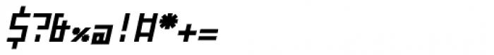 ZAP Bold 360 Slant Font OTHER CHARS