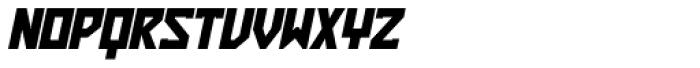 ZAP Heavy 360 Slant Font UPPERCASE