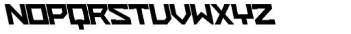 ZAP Heavy 500 Backslant Font UPPERCASE