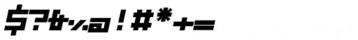 ZAP Heavy 500 Slant Font OTHER CHARS