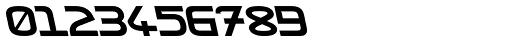 ZAP Round Black 500 Backslant Font OTHER CHARS