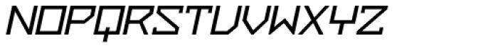 ZAP Semi Bold 500 Slant Font UPPERCASE