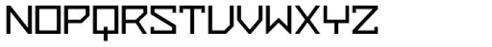 ZAP Semi Bold 500 Font UPPERCASE