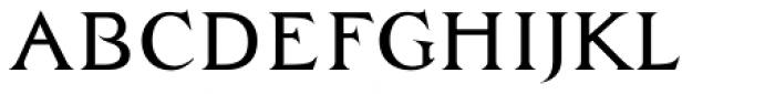 Zachar Book Font LOWERCASE