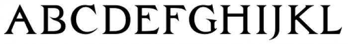 Zachar Medium Font UPPERCASE