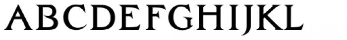 Zachar Medium Font LOWERCASE