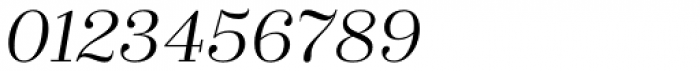 Zahrah Regular Italic Font OTHER CHARS