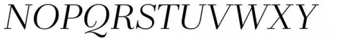 Zahrah Regular Italic Font UPPERCASE