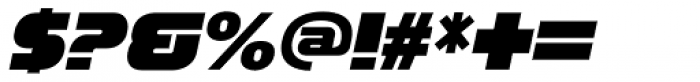 Zaius Italic Font OTHER CHARS