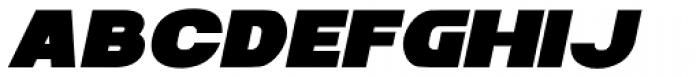 Zaius Italic Font UPPERCASE